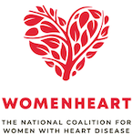 Image of the WomenHeart National Coalition for Women with Heart Disease logo