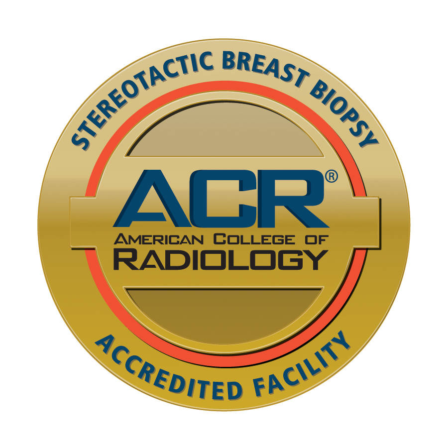 ACR Gold Standard Accreditation for Breast Stereotactic Breast Biopsy