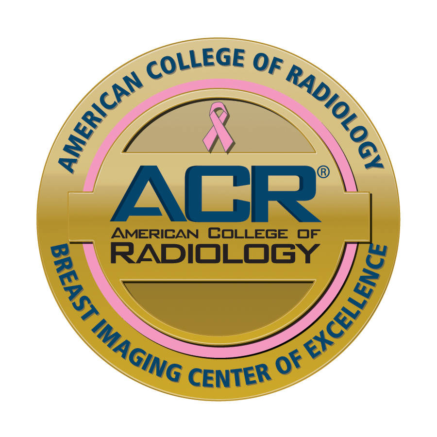 ACR Gold Standard Accreditation for Breast Imaging Center of Excellence