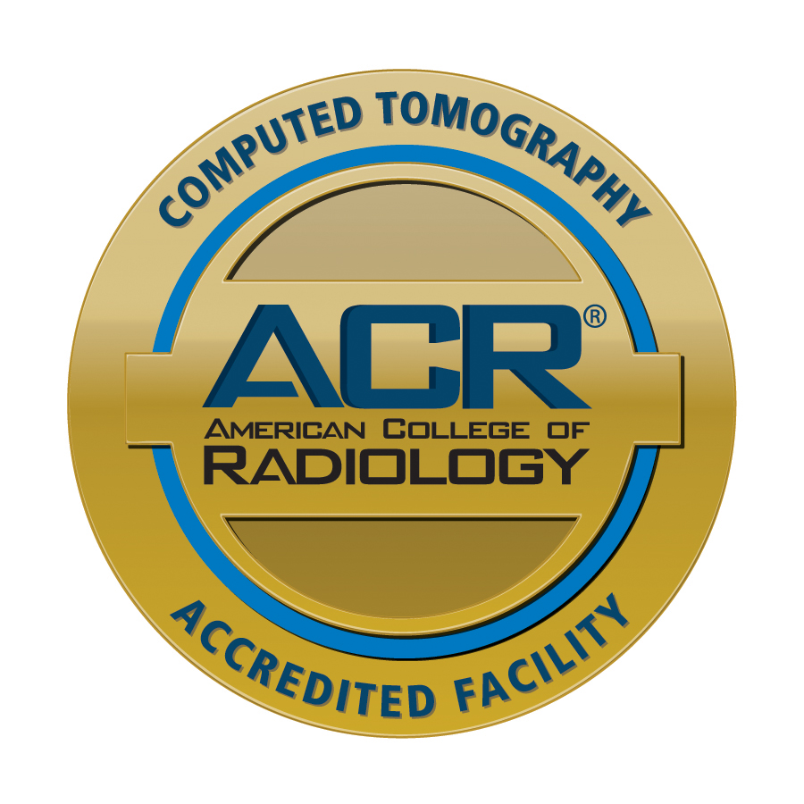 ACR Gold Standard Accreditation for CT Scan