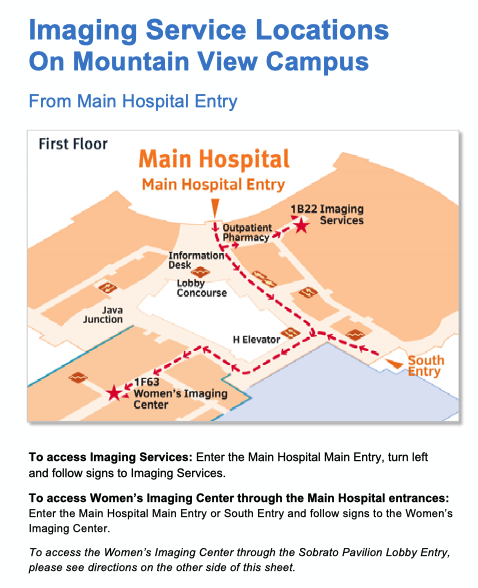 Mountain View Campus Map