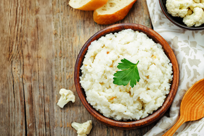 Healthy Mashed Cauliflower