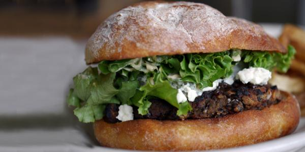Smoky Black Bean Beet Burgers