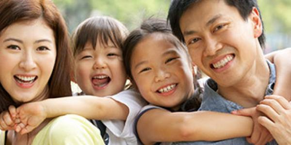 Chinese Health Initiative - smiling family