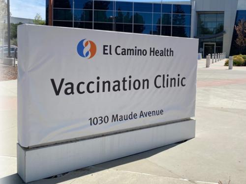 Vaccination Center in Santa Clara County
